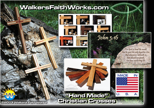 Handmade Wooden Christian Wall Crosses for Sale Online